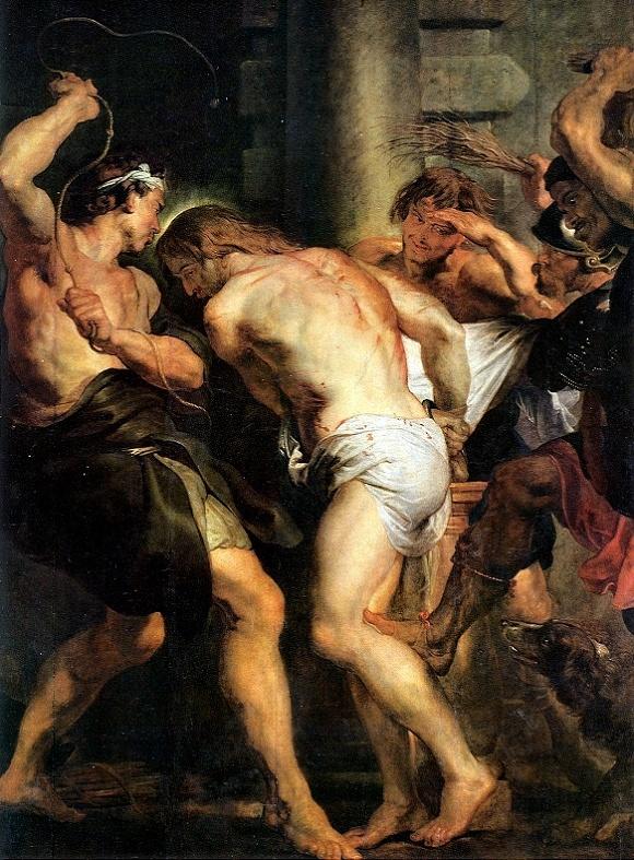 The_Flagellation_of_Christ_-_Rubens_-_1607